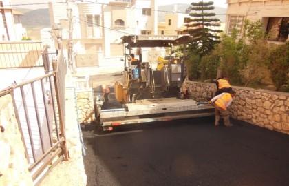 פיקוח אחזקת כבישים בבועינה נוג'דאת
